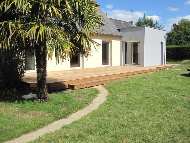 Terrasse bois – Paysagiste Rennes IlleetVilaine 35